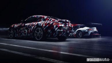 Toyota concept Supra al Goodwood Festival 2018