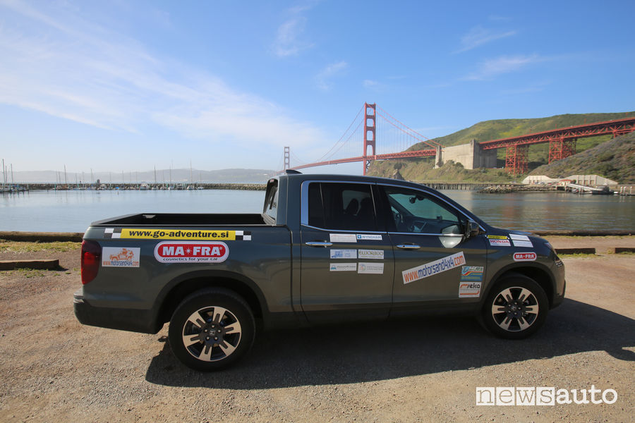 Golden Gate e Honda Ridgeline