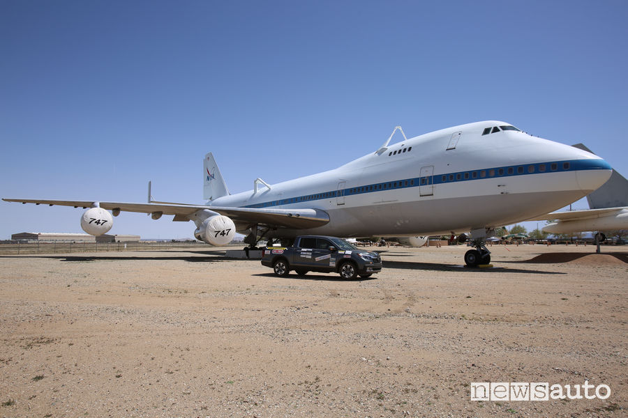 Viaggio California Honda Ridgeline Lancaster Air Museum