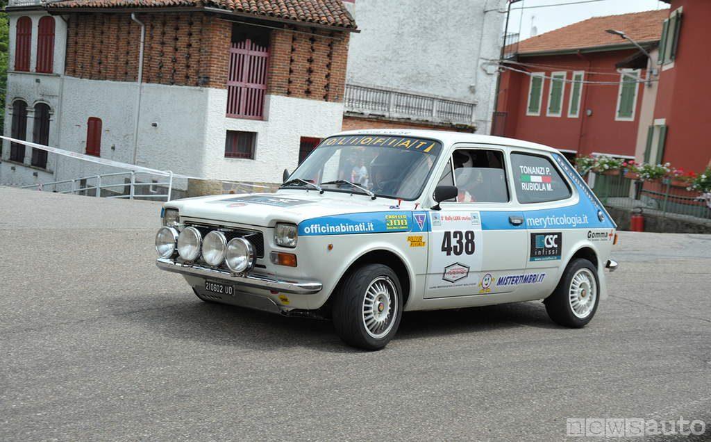 auto storiche da corsa Fiat 127 da rally