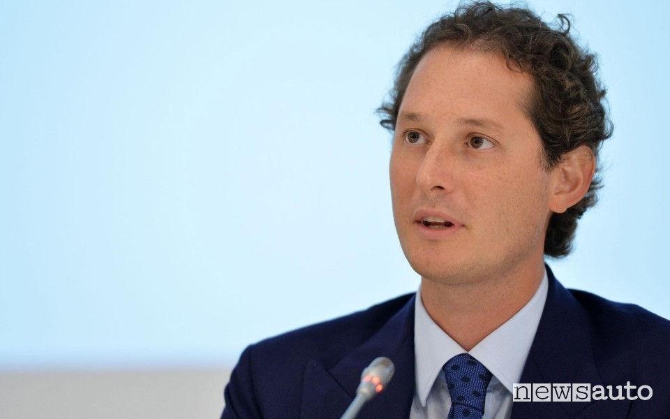 John Elkann, presidente FCA