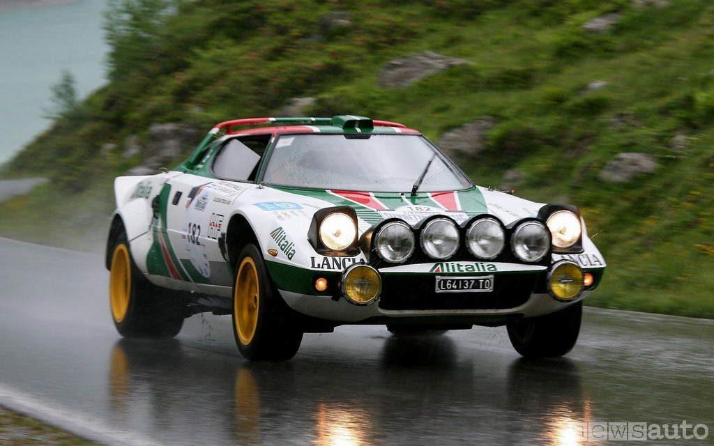 auto storiche da corsa lancia stratos rally