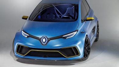 Renault Zoe e-sport concept frontale