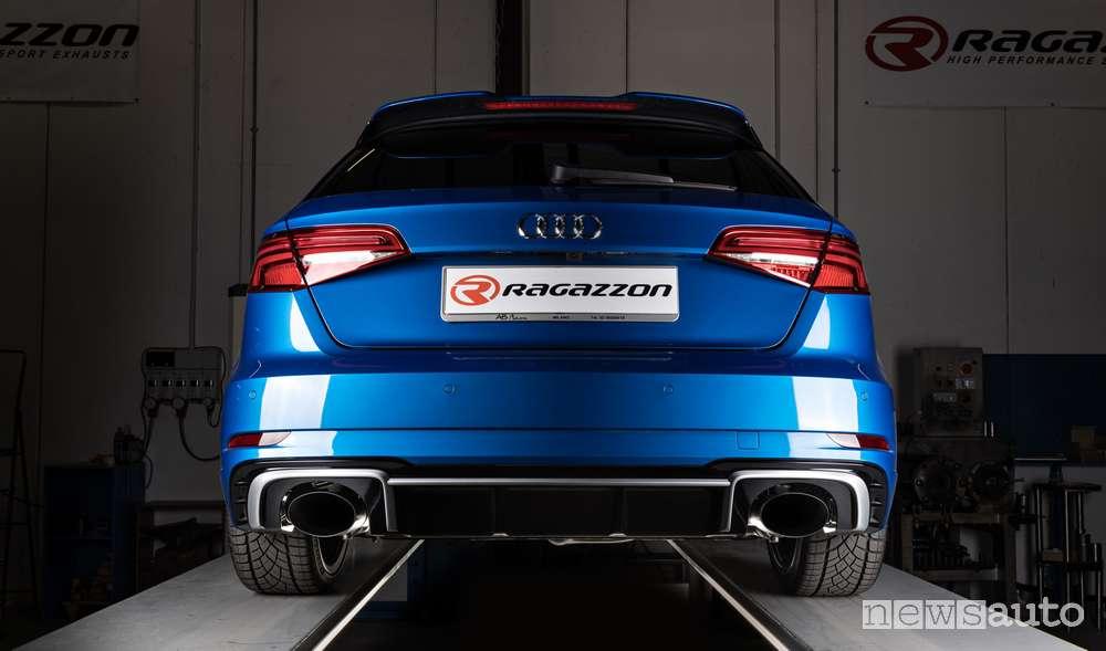 Impianto di scarico per audi rs 3 by ragazzon for Audi rs3 scheda tecnica