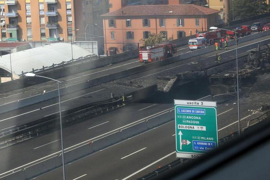 incidente Bologna Borgo Panigale agosto 2018