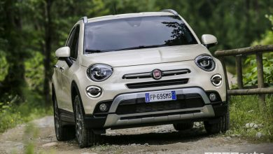 Nuova Fiat 500X 2019, vista frontale City Cross