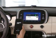 Nuova Fiat_500X 2019, Android Auto