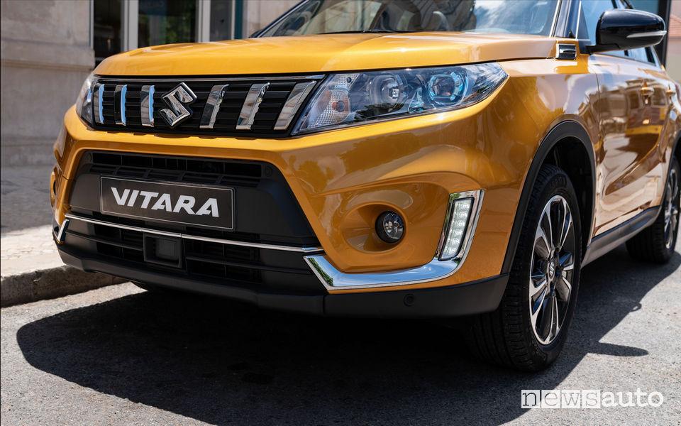 Nuova Suzuki Vitara 2019 frontale restyling