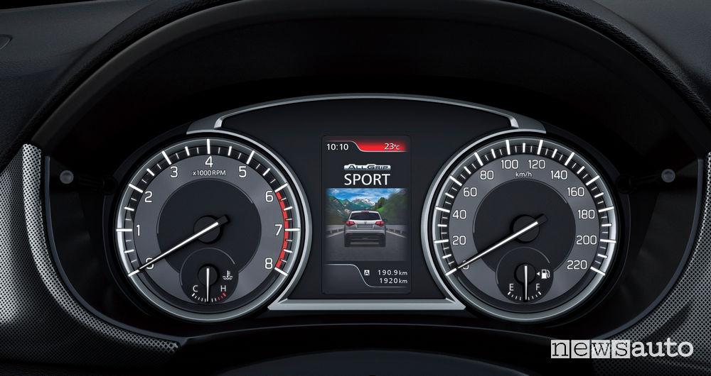 Nuova Suzuki Vitara 2019 quadro strumenti