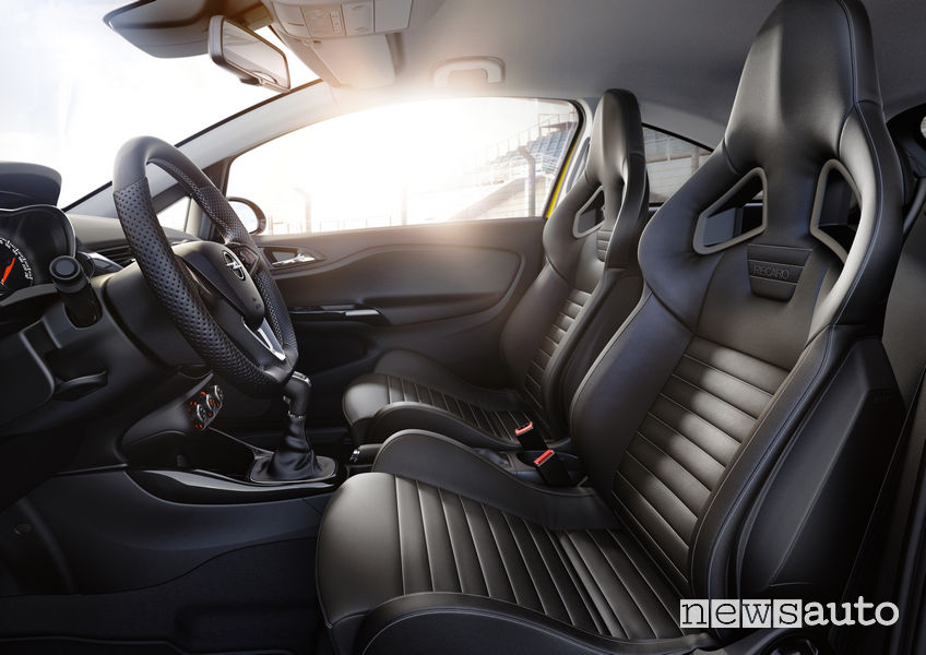 Opel_Corsa GSi 2019 sedili anteriori