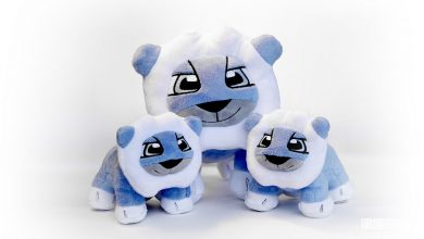 Photo of Peugeot Design Lab, peluche Leo gioco per bambini