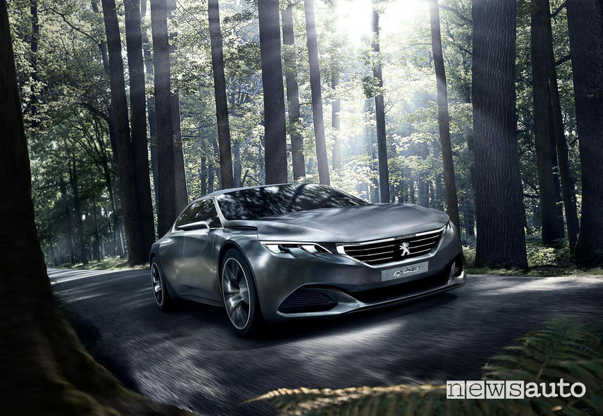 Peugeot concept Exalt