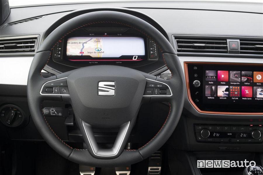 Digital Cockpit Seat navigatore