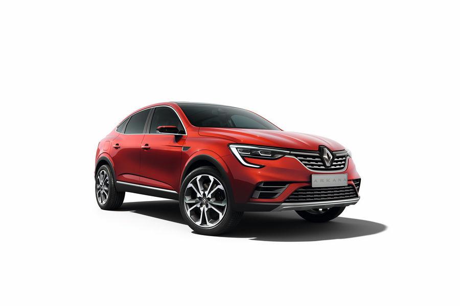 Show Car Renault Arkana, vista di profilo