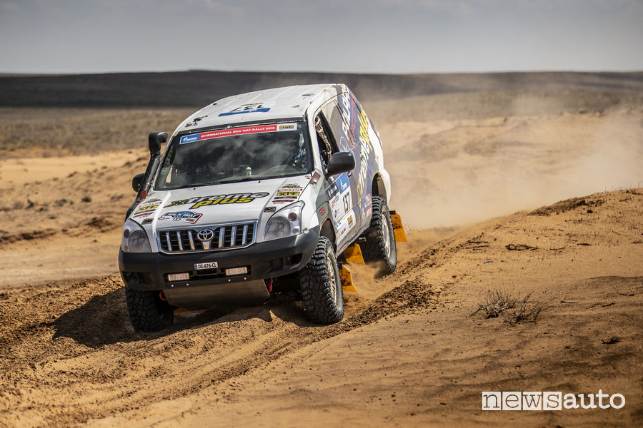 Silk Way Rally_2018 Toyota Land Cruiser Piana/Giovannetti Team Xtreme Plus