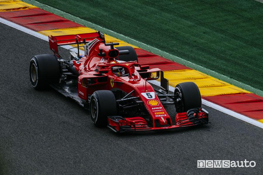 F1 Gp Belgio 2018, Ferrari Vettel