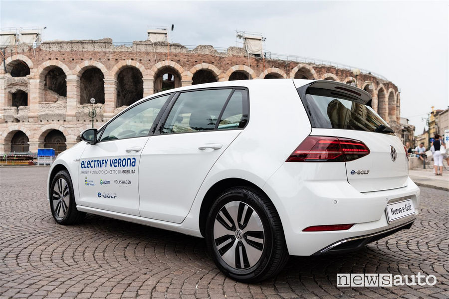 Volkswagen e-Golf Electrify Verona
