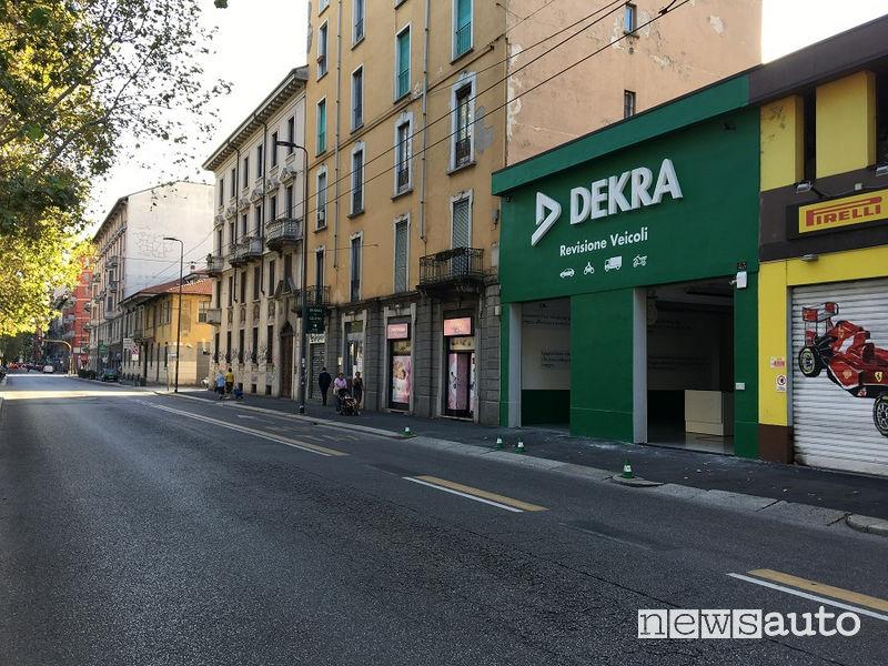Flagship Store Dekra Italia Milano, Viale Umbria