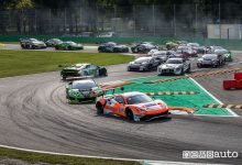 Partenza gara Monza 2018 International GT Open