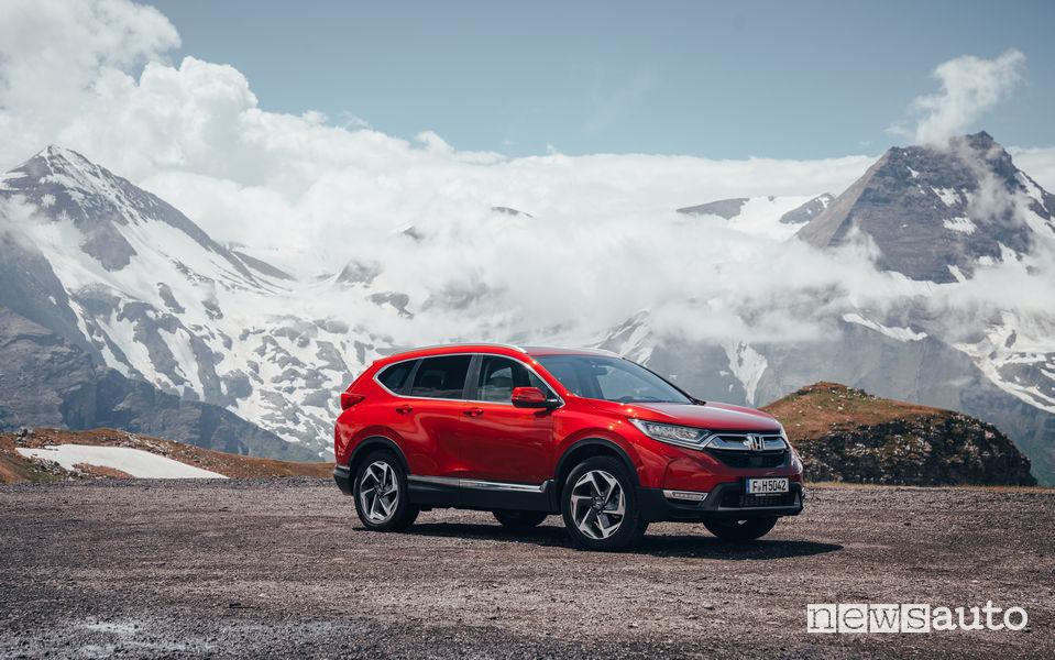 Honda_CR-V 2018, vista di profilo