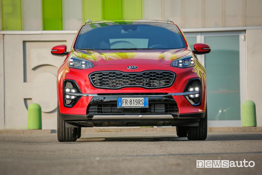 Kia_Sportage 2019 GT Line, frontale