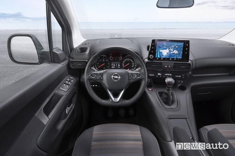 Opel_Combo Life 2019, plancia strumenti