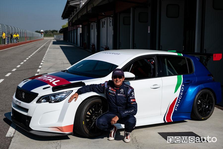 Peugeot 308 TCR 2019, Massimo Arduini