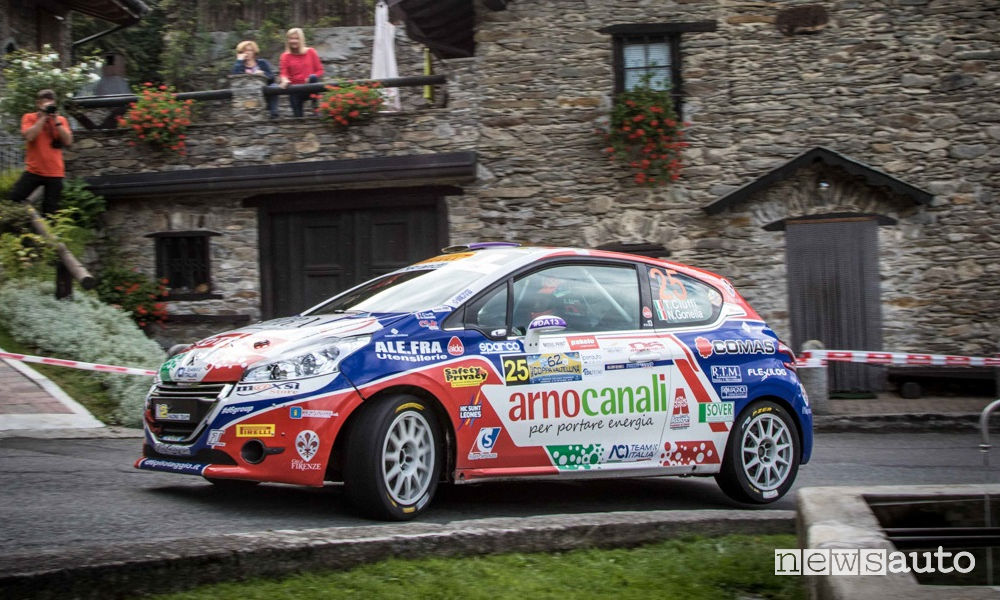 Peugeot Competion Rally 2018 Ciuffi