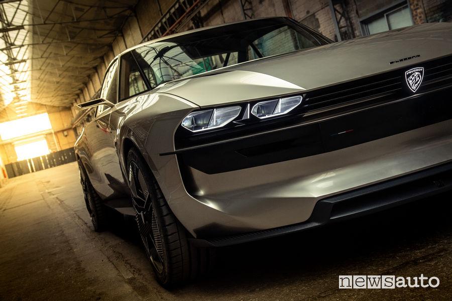Peugeot e-Legend Concept, frontale