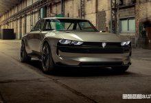 Novità Peugeot e-Legend Concept, vista di profilo