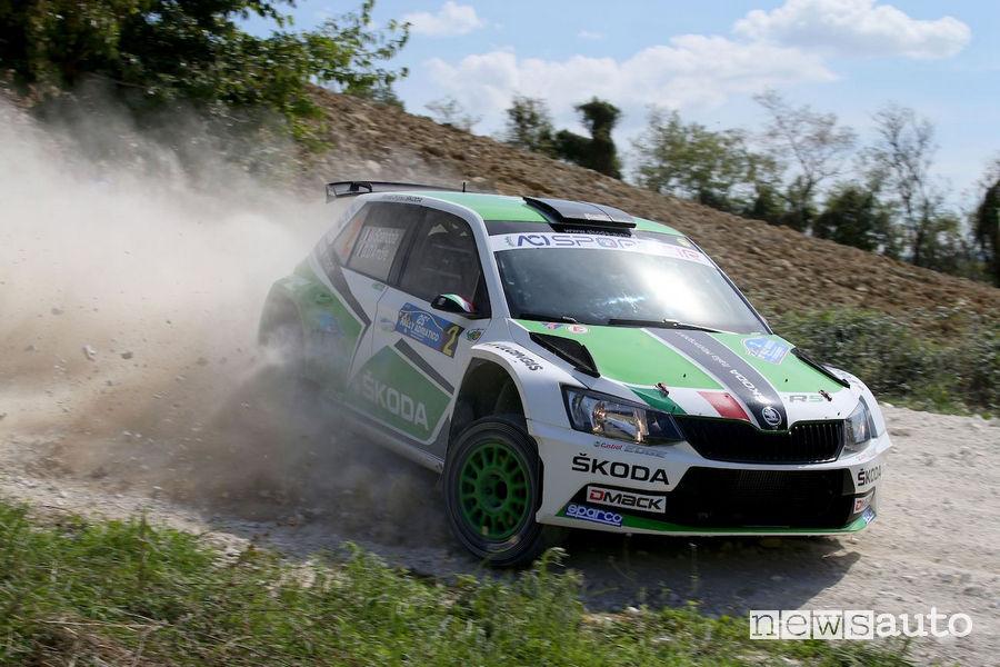 Classifica Rally Adriatico 2018 Scandola Skoda Fabia R5
