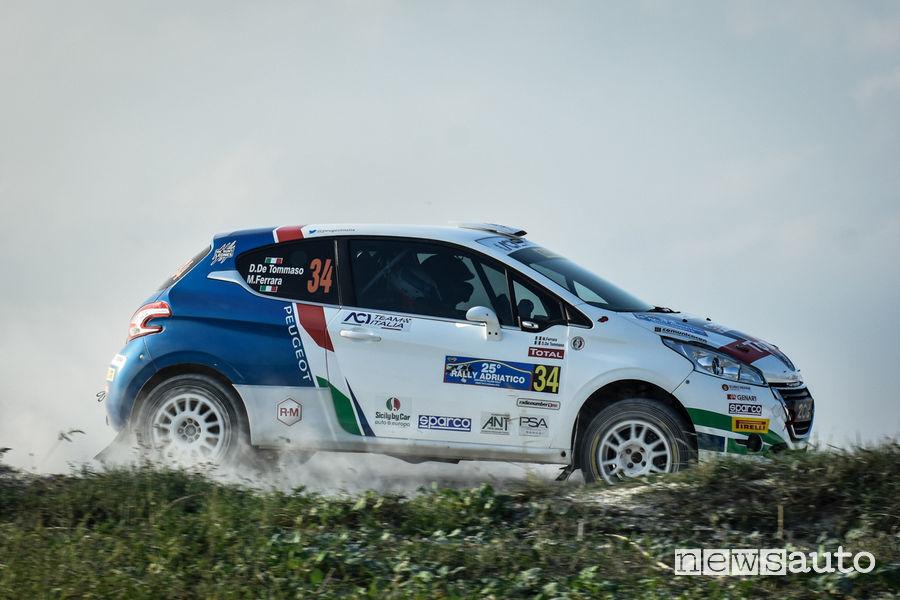 Rally_Adriatico 2018, Peugeot 208 R2 De Tommaso
