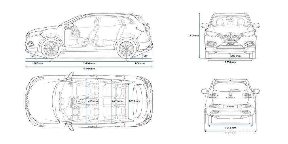 Dimensioni Nuovo Renault_Kadjar 2019
