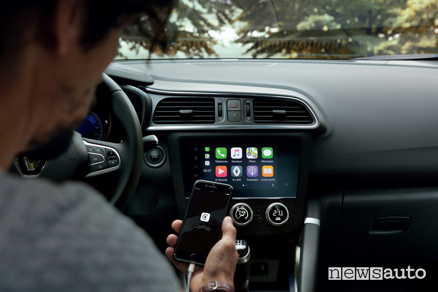 Nuovo Renault_Kadjar 2019, Apple CarPlay