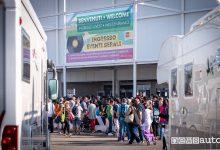 Salone del Camper 2018 Parma, pubblico all'ingresso