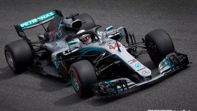 F1 Monza 2018 Mercedes-AMG Lewis Hamilton