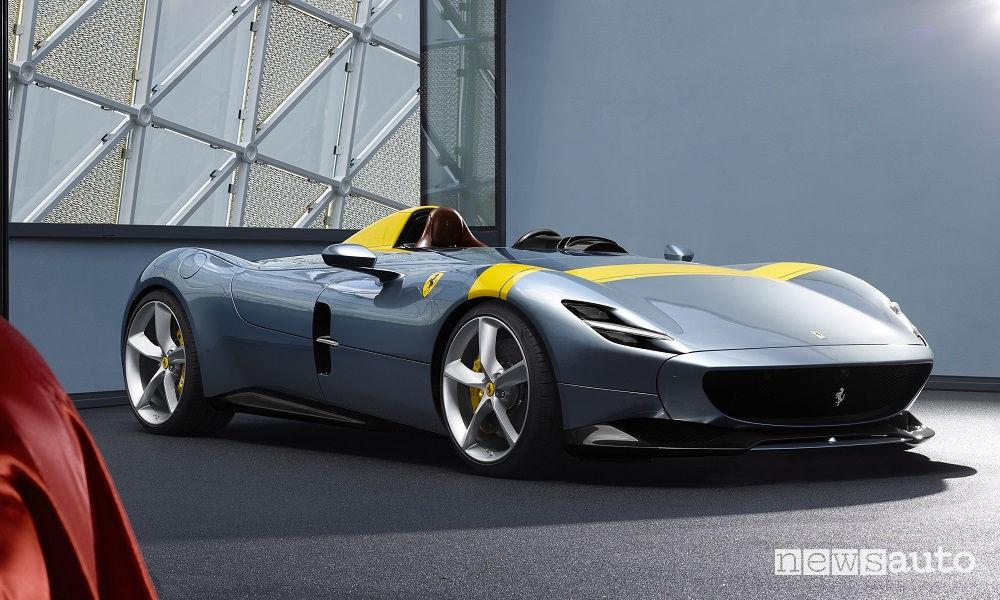 Ferrari Monza SP1, vista di profilo