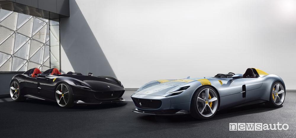 McLaren Speedster Ferrari Monza SP1 e SP2