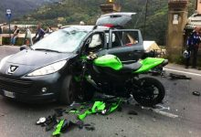 Incidente auto moto mortale