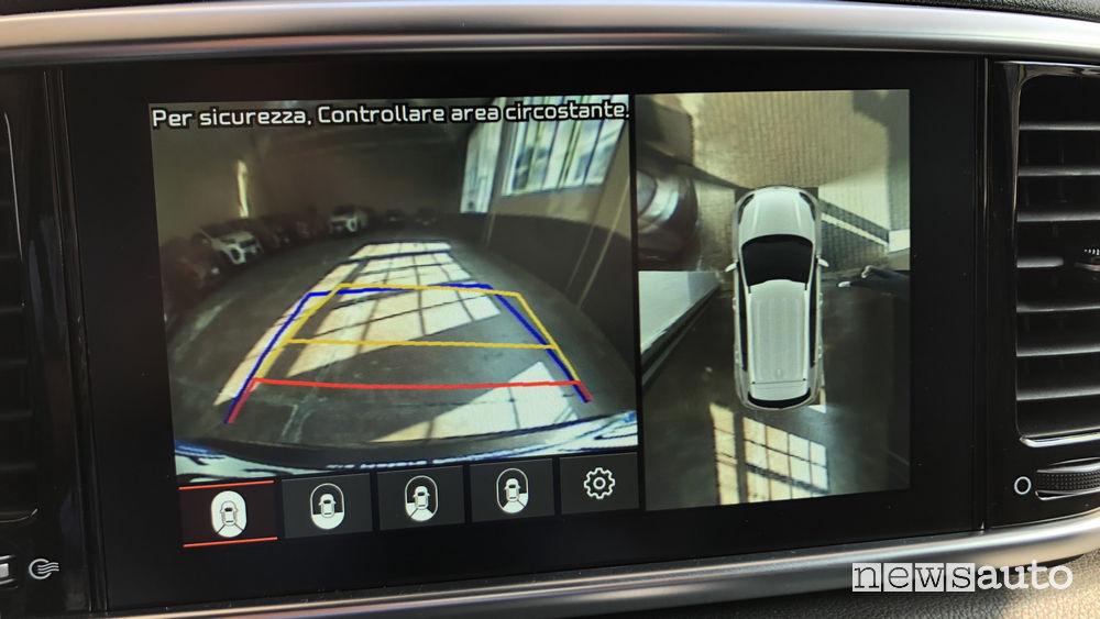 Kia Sportage 2019 immagini telecamera posteriore 180°