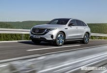 Mercedes-Benz EQC 400 4MATIC, vista laterale