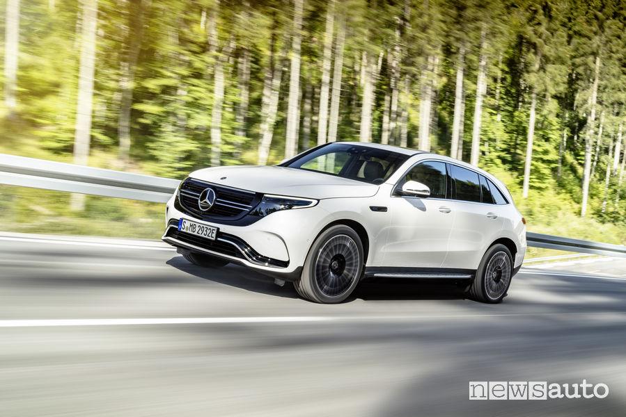 SUV ad alte prestazioni 2019: Mercedes-Benz EQC