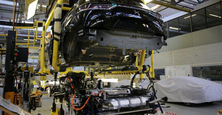 Linea di produzione auto Groupe PSA