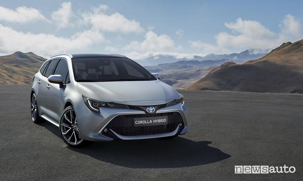 Toyota Corolla Wagon 2019, vista di profilo