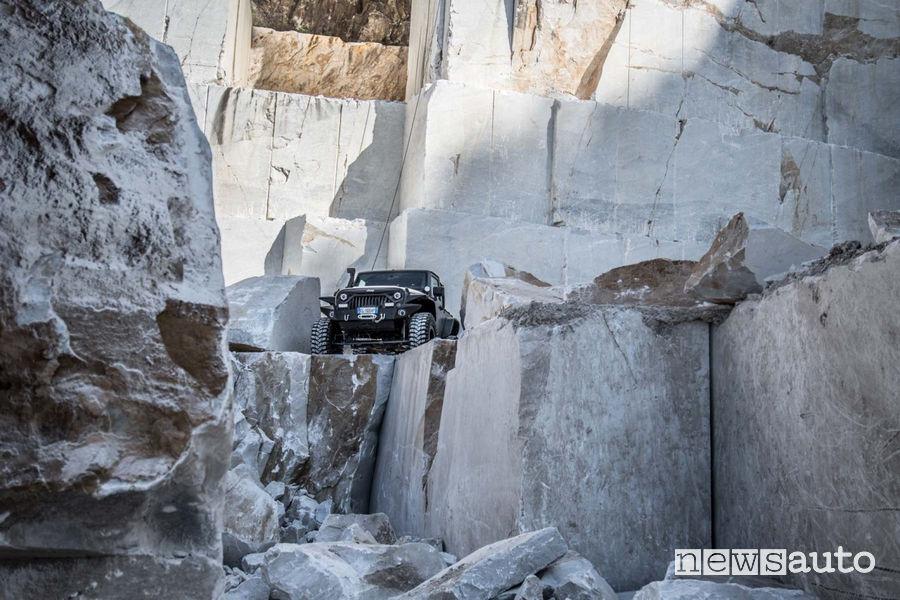 4x4_Fest Carrara 2018, Tour delle Cave