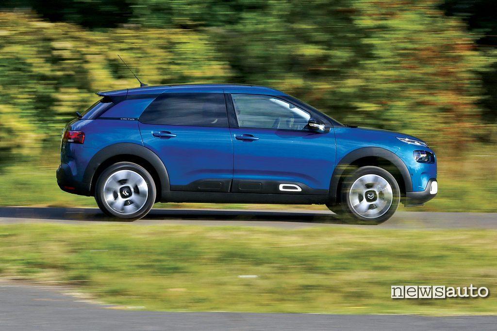 Sospensioni Citroën smorzatori idraulici progressivi