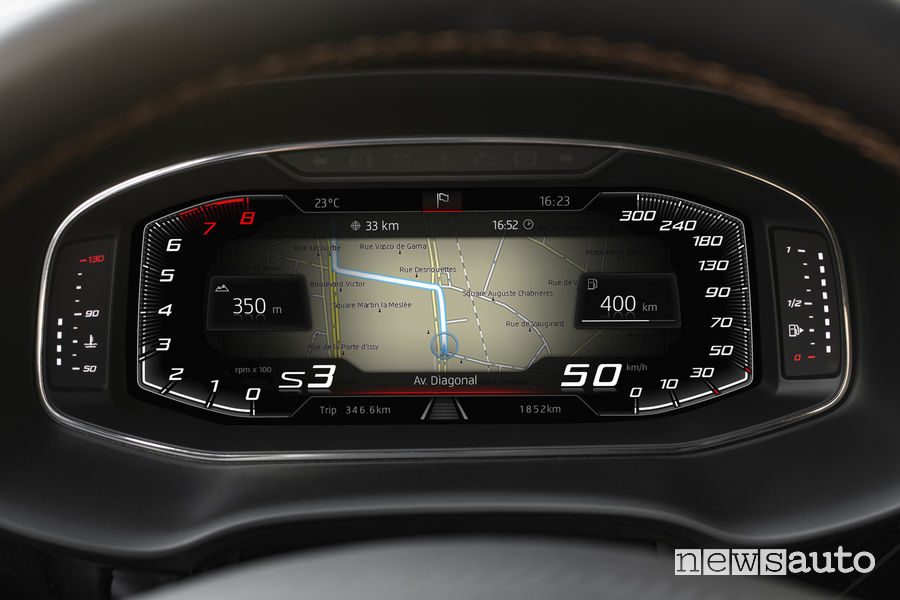 Cupra_Ateca 2019, Virtual Cockpit
