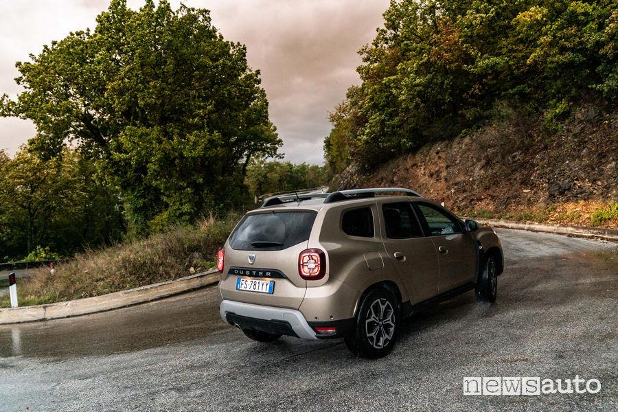 Dacia_Duster_2019 GPL, vista posteriore