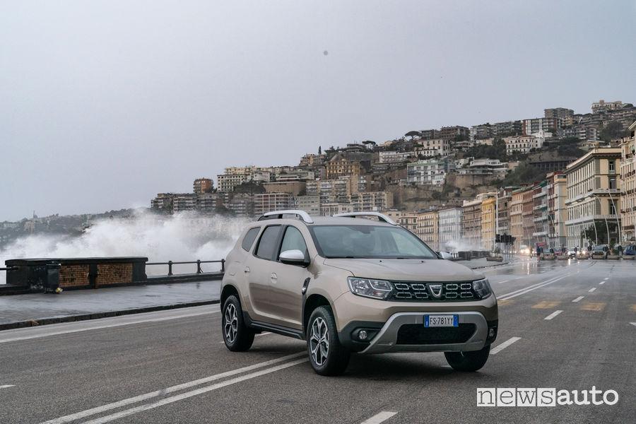 Dacia_Duster_2019 GPL, vista di profilo