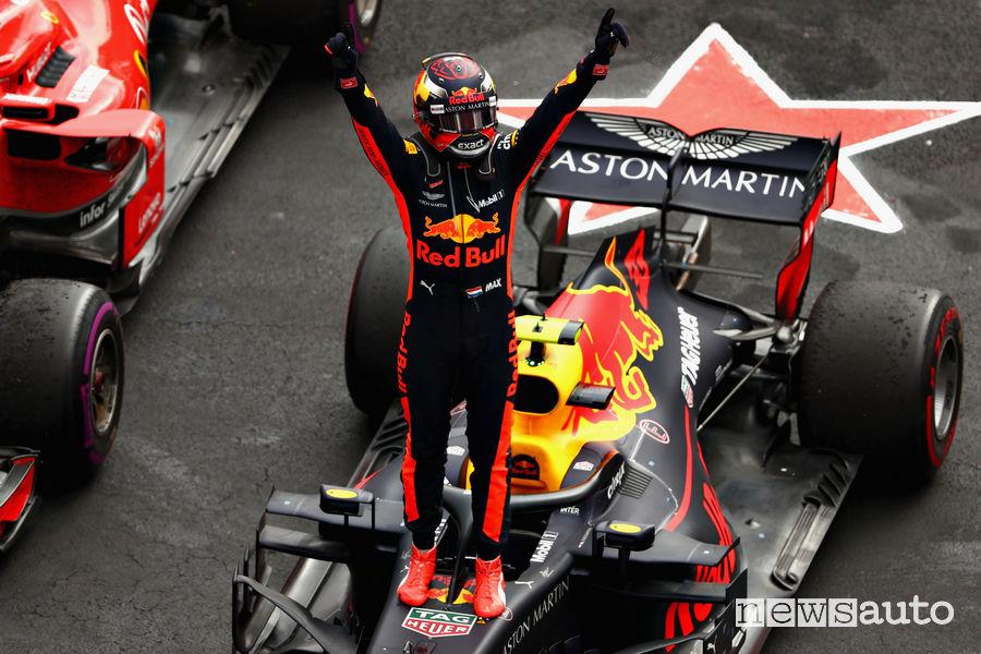 F1 2018 Gp Messico Verstappen (Red Bull)